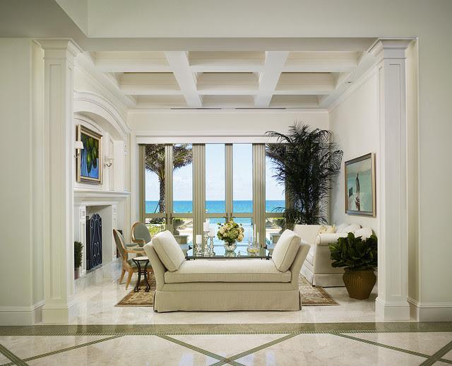French Vanilla Flooring - Traditional - Living Room ...