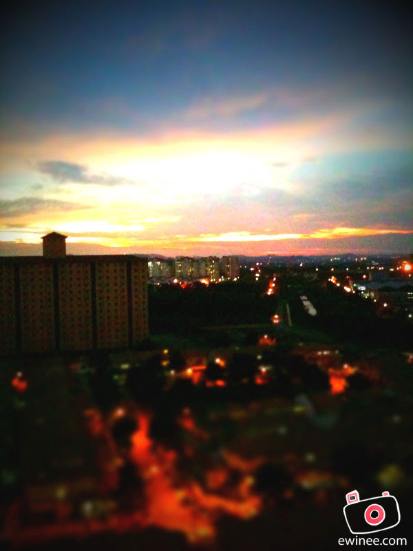 TILTSHIFT-IPHONE-top-view-sunset