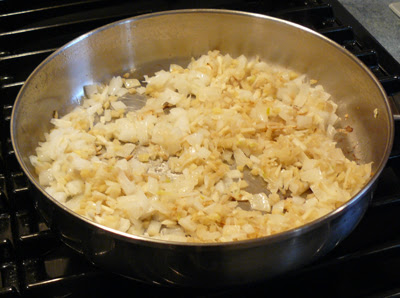Shrimp Curry 1 - garlic, onion & ginger