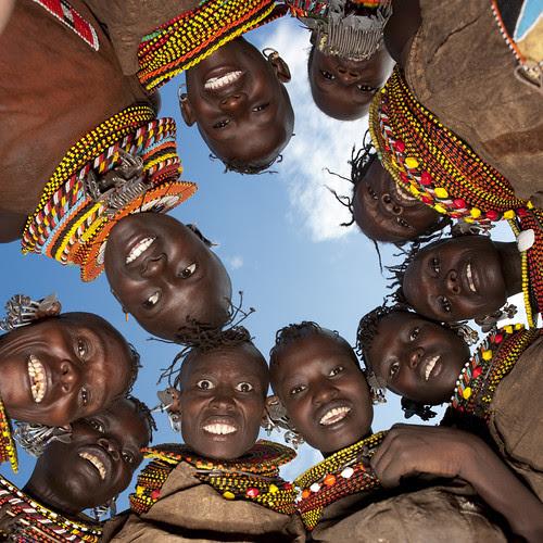 Turkana in Kenya por Eric Lafforgue