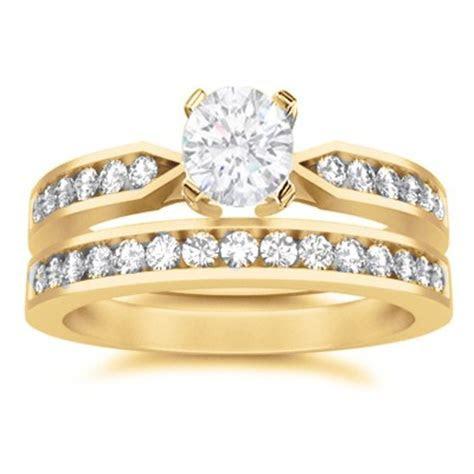 Affordable Wedding Ring Set On   JeenJewels