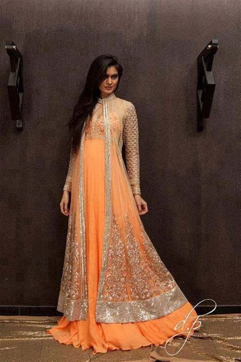 Pakistani wedding fashion Frock and gowns new collection 8
