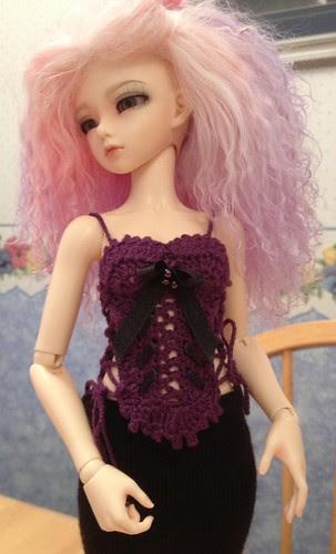 Grape corset
