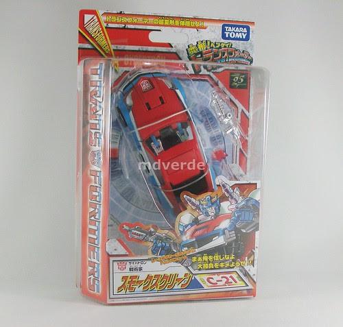 Transformers Smokescreen Classics Henkei - caja