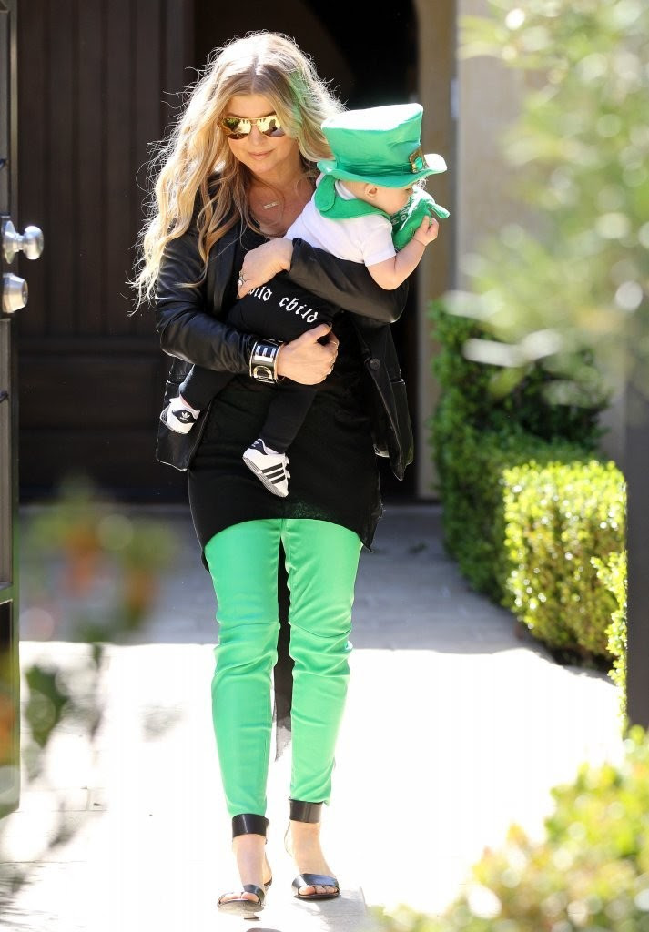 Who Had The Cutest St Patricks Day Outfit Vote Celebrity Style