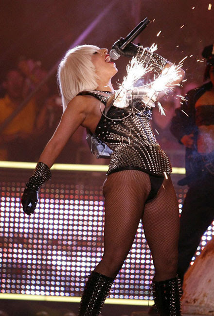 Lady GaGa's hot performance