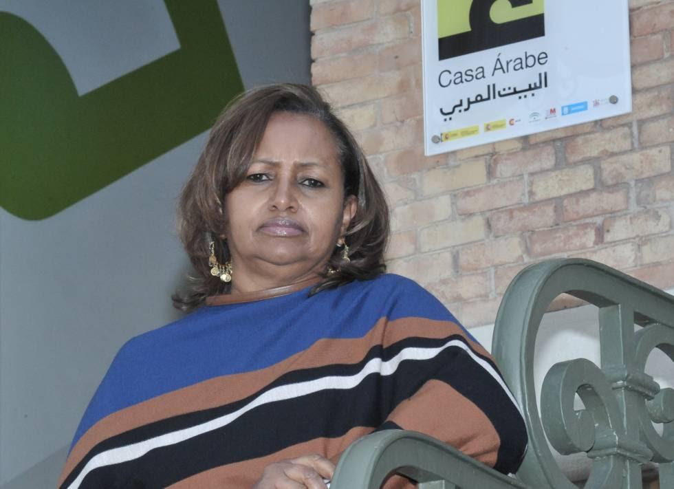 La fundadora de Karama, Hibaaq Osman.
