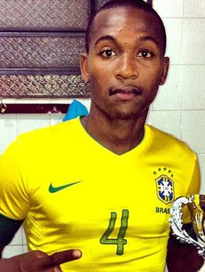 Samir zagueiro Seleção sub 20 (Foto: Divulgação)