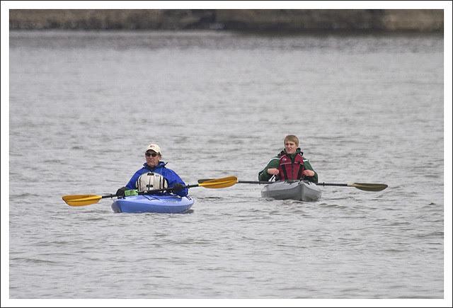 Kayaks On The Mississippi 2