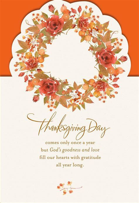 Thank God for You Religious Thanksgiving Card   Greeting