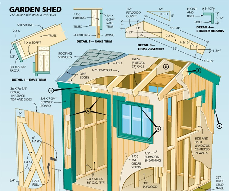 Do It Yourself Home Design: Learn To Build Shed: Topic Free Printable Wood Shed Plans