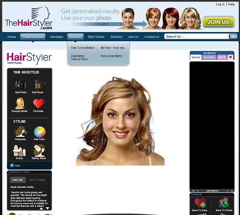Best Hair Salon Ideas Virtueller Hairstyler