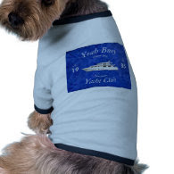 Yacht Club Yeah Buoy Dog Tshirt