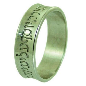 Hebrew Ring Ancient Rashi Script Jewish Wedding Band