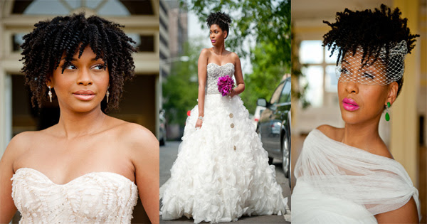 Feminine Wedding Hairstyles For Black Women Feminine Wedding