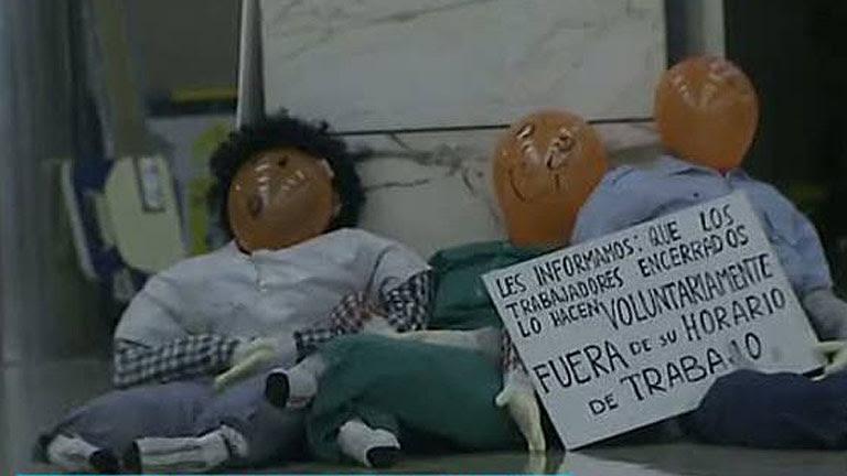 Encierros de 24 horas en hospitales y centros de salud en defensa de la sanidad pública en Madrid