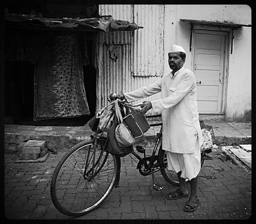 The Dabbawala Of Bandra Bazar Road .. by firoze shakir photographerno1
