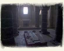 Tihany - András kriptája
