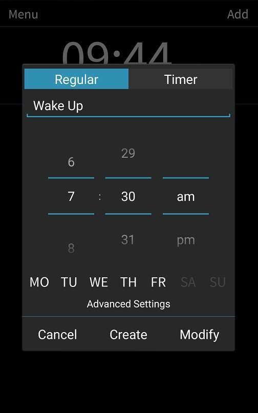 تطبيق المنبه هذا سوف يفرض عليك البقاء مستيقظاً Can't Wake Up! Alarm Clock