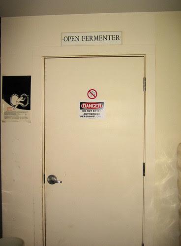 no public entry! open fermenter