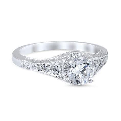 Vintage Style Palisades Die Struck .68cttw Diamond