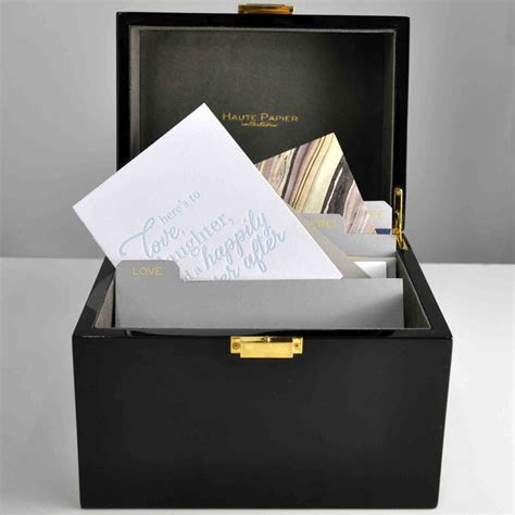 A must have! The Write Box, a lacquer stationery organizer
