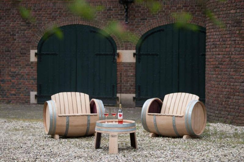 30 Best Ideas To Recycle Old Wine Barrels