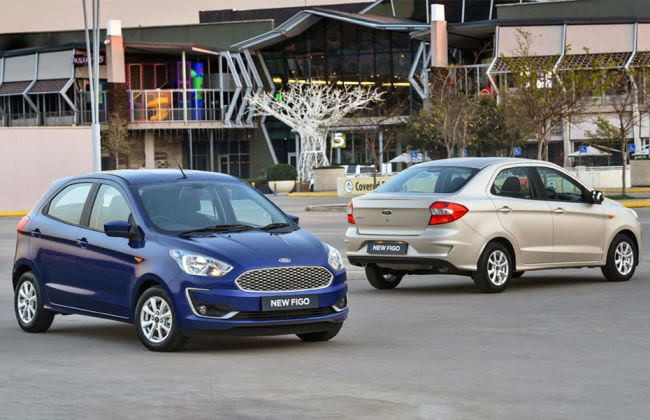 Ford Aspire Figo Facelift Revealed India Launch Soon Cardekho Com