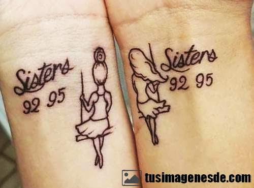 Imágenes De Tatuajes Para Hermanas Imágenes