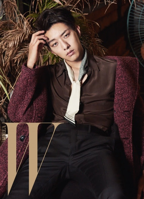 C.N Blue Jung Shin - W Magazine October Issue '15