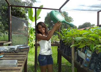 Home Gardens And Sustainable Painting Maranhao Communities Learn To Save And Protect The Environment