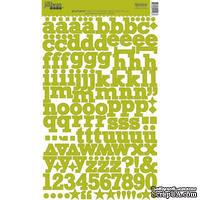 Набор наклеек Jillibean Soup - Glazed Green - ScrapUA.com