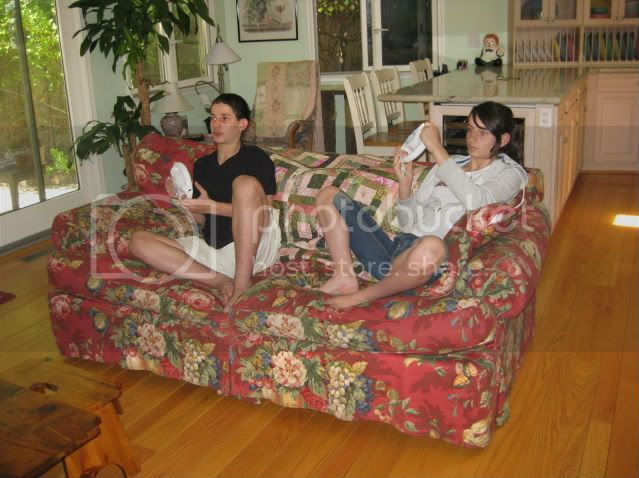 Lit and Laundry: August 2011