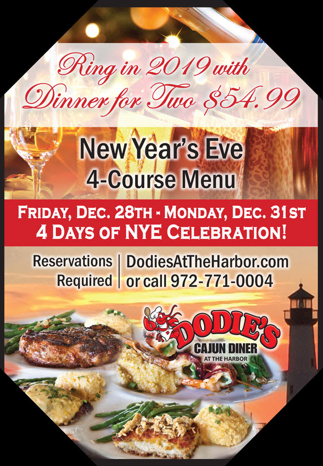 New Years Eve 2019 At Dodies Rockwall Dodies Cajun Diner At The