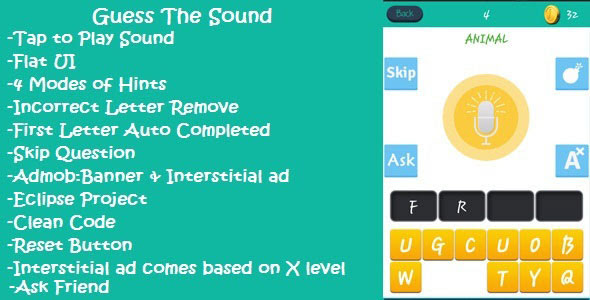 Guess The Sound Mobile App