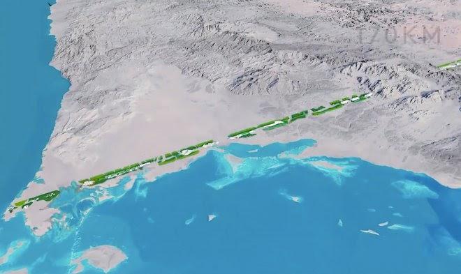 Саудовская Аравия намерена построить уникальный город-линию