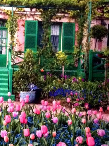 Trompe d'oeille at Monet exhibition