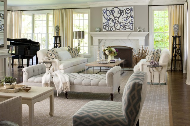 Elegant living room traditional-living-room