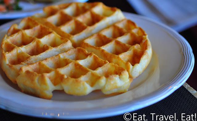 St Regis Monarch Beach- Dana Point, CA: Motif- Breakfast Buffet, Waffle