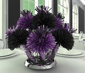 Purple And Black Party Decorations Information Keywords And Pictures
