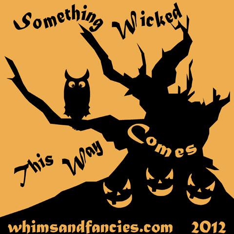 Paper Pieced Blog Hop Halloween 2012