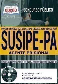 Apostila Concurso SUSIPE 2018 | AGENTE PRISIONAL