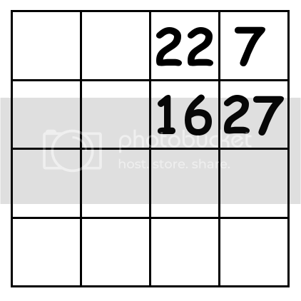 4 by 4 grid Puzzle 3