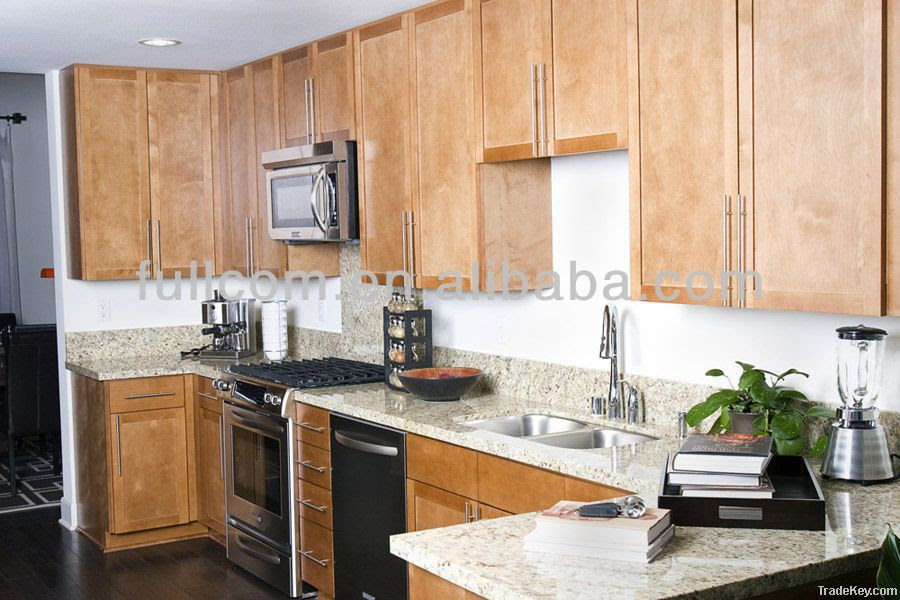 Shaker Style Birch Solid Wood Kitchen Cabinet Door ...