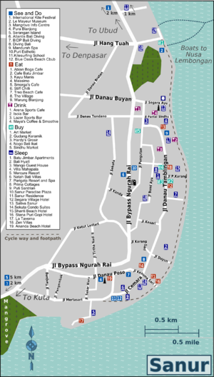 sanur map of streets,sanur travel guide destinations attraction map,sanur town map,sanur accommodation map,sanur post office map,inna sindhu beach map,map of sanur hotels,google earth map sanur,sanur beach hotels map