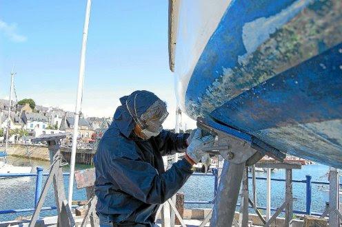 Les plaisanciers sont donc invités à utiliser les cales de carénage équipées des ports de plaisance.