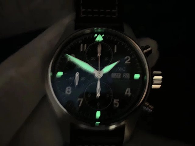 IW387903 Dial Lume