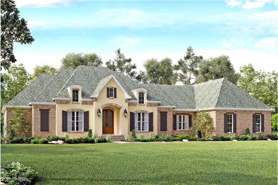 European  House  Plan  142 1141 4 Bedrm 3527 Sq Ft Home