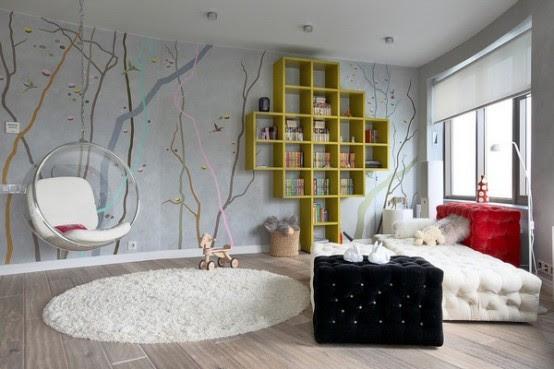 Modern Ideas Of Room Designs For Teenage Girls