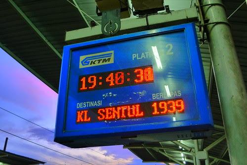 train wasn't punctual